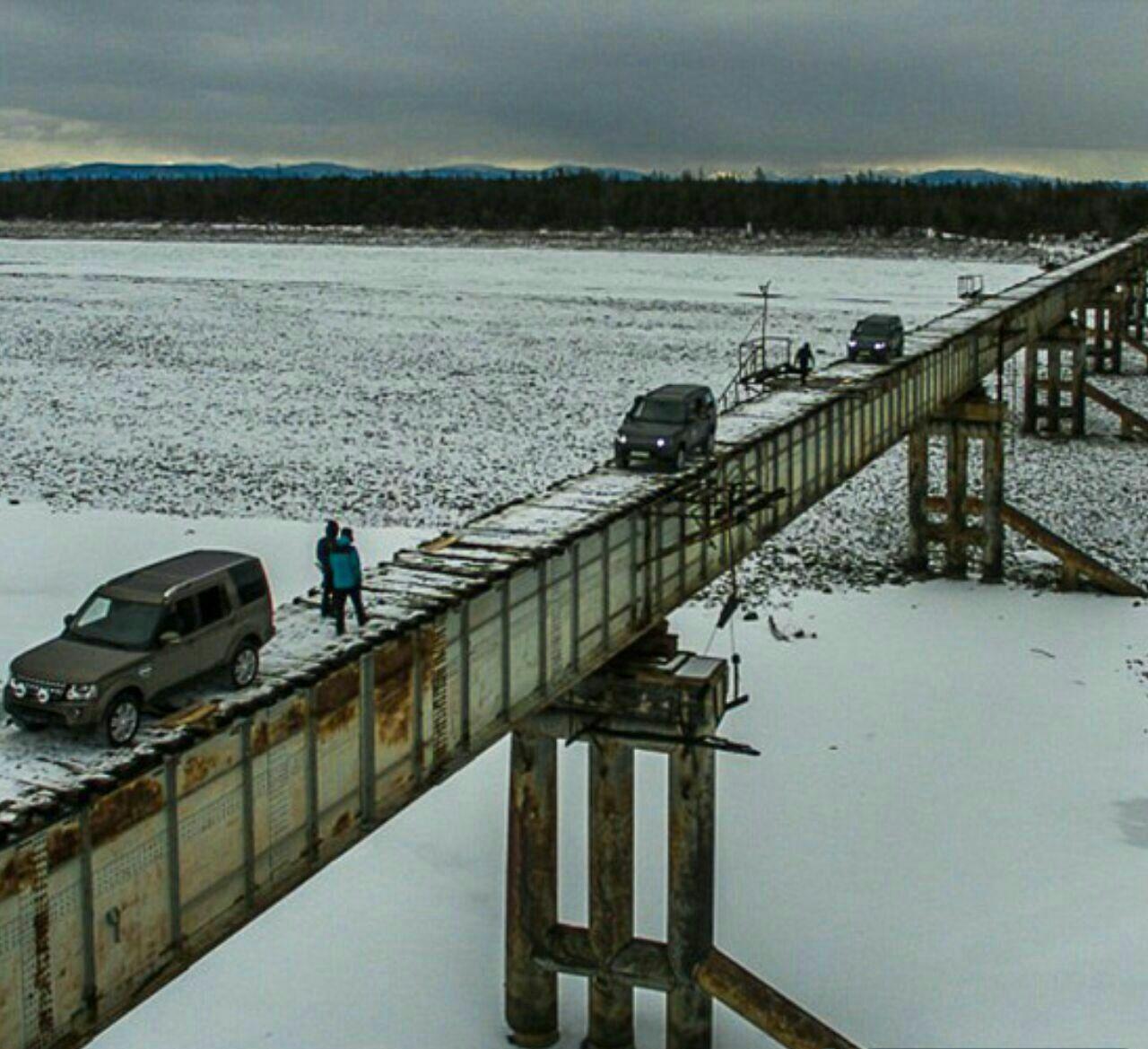 پل کاندینسکی خطرناک ترین پل جهان در روسیه…