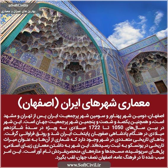 معماری شهرهای ایران (اصفهان)